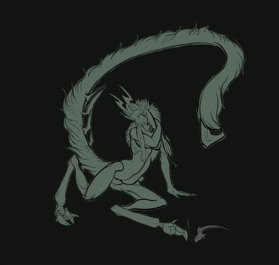 Sultry Snarl by spiralofvertigo