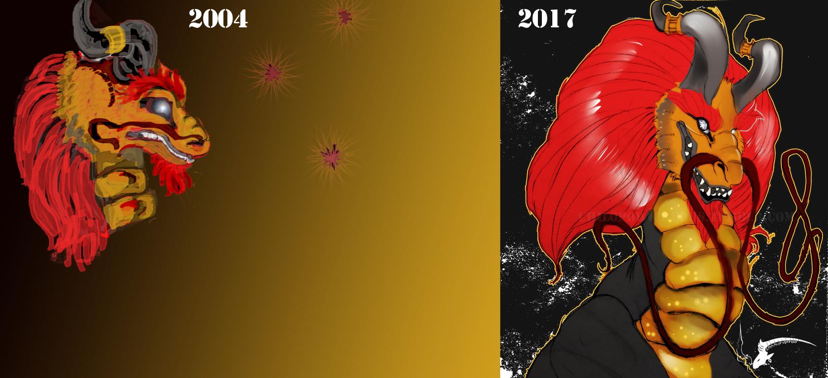 Art Comparison by spiralofvertigo