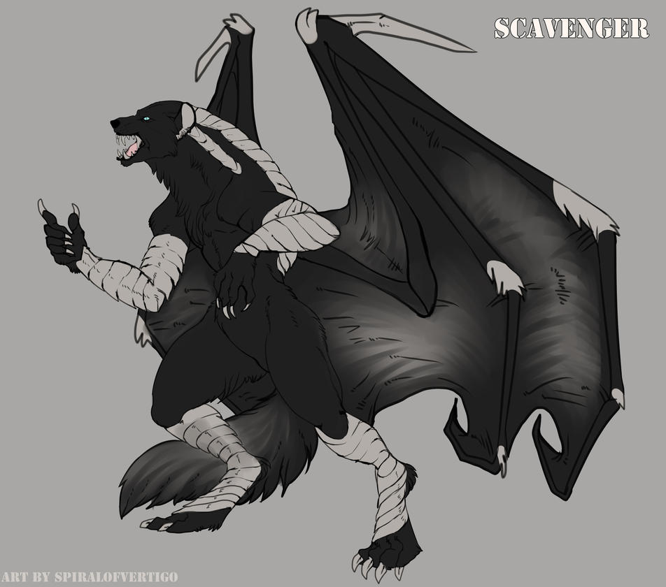 Commission: Asterfinn by spiralofvertigo