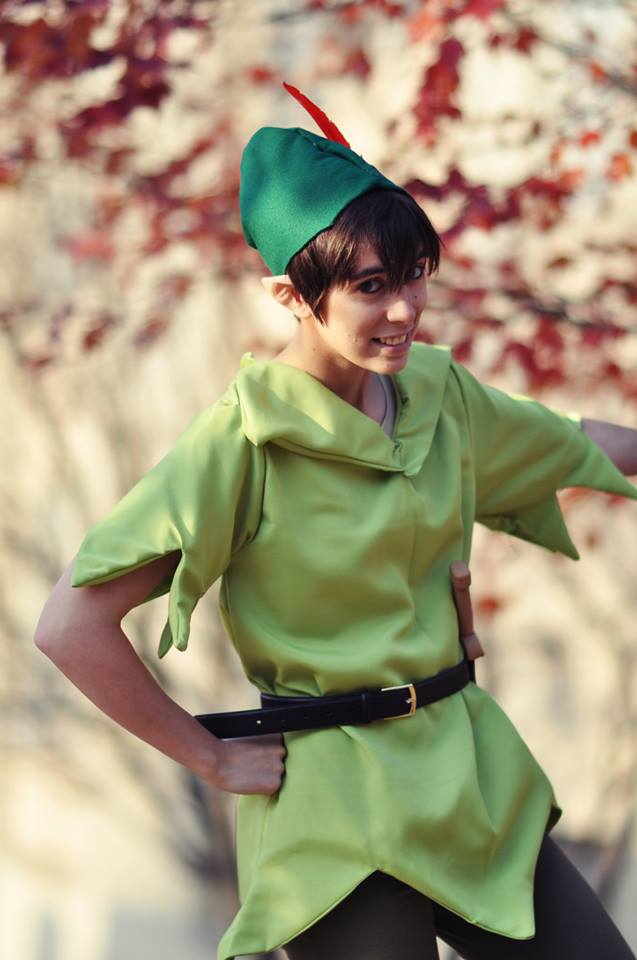 halloween 2013 peter pan by elliotcosplay