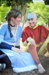 ATLA: Aang and Katara