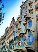 Barcelona - Batllo House by GreenWay999