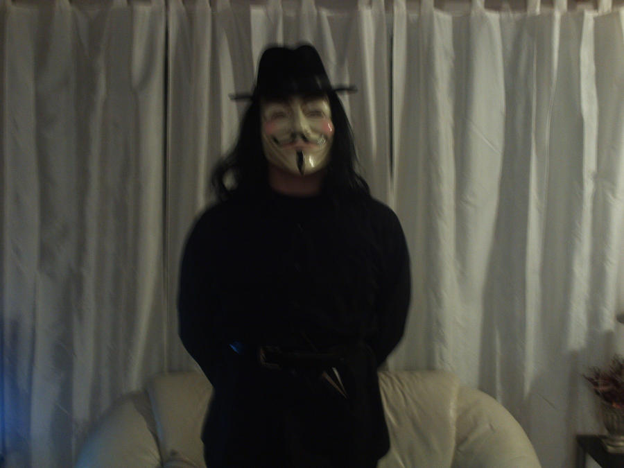 V for Vendetta Cosplay Angle 2 by Klassenex on deviantART