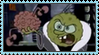 Spongebob scary stamp by WeirdSolitude