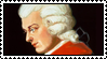 W. A. Mozart stamp by WeirdSolitude
