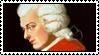 W. A. Mozart stamp by WeirdSolitude