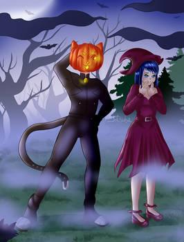 Spooky Chat Noir