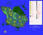 Jurassic Park Azores map