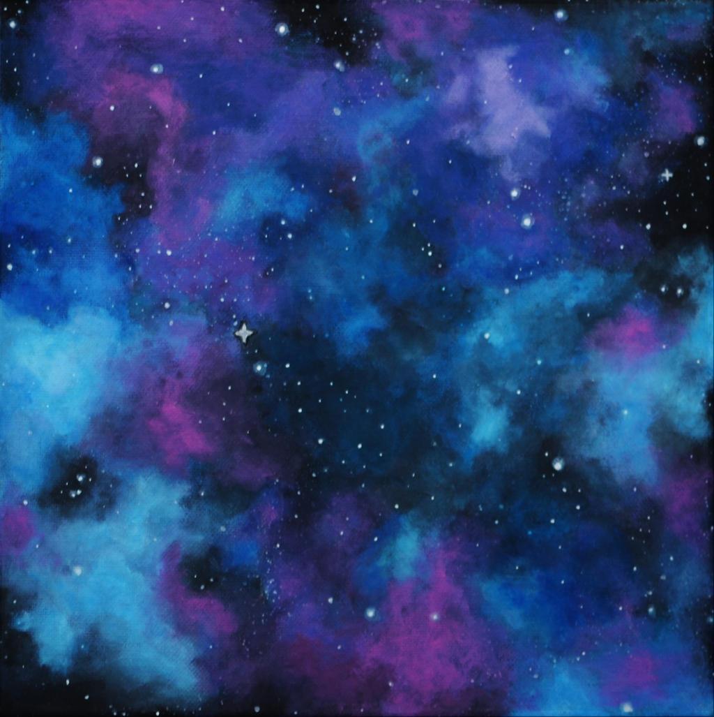 Light Blue Galaxy by H3lloGalaxy on DeviantArt