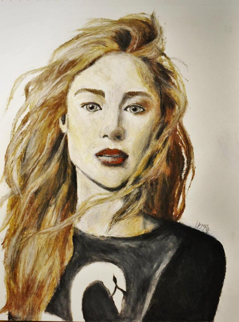 Jennifer Lawrence by H3lloGalaxy