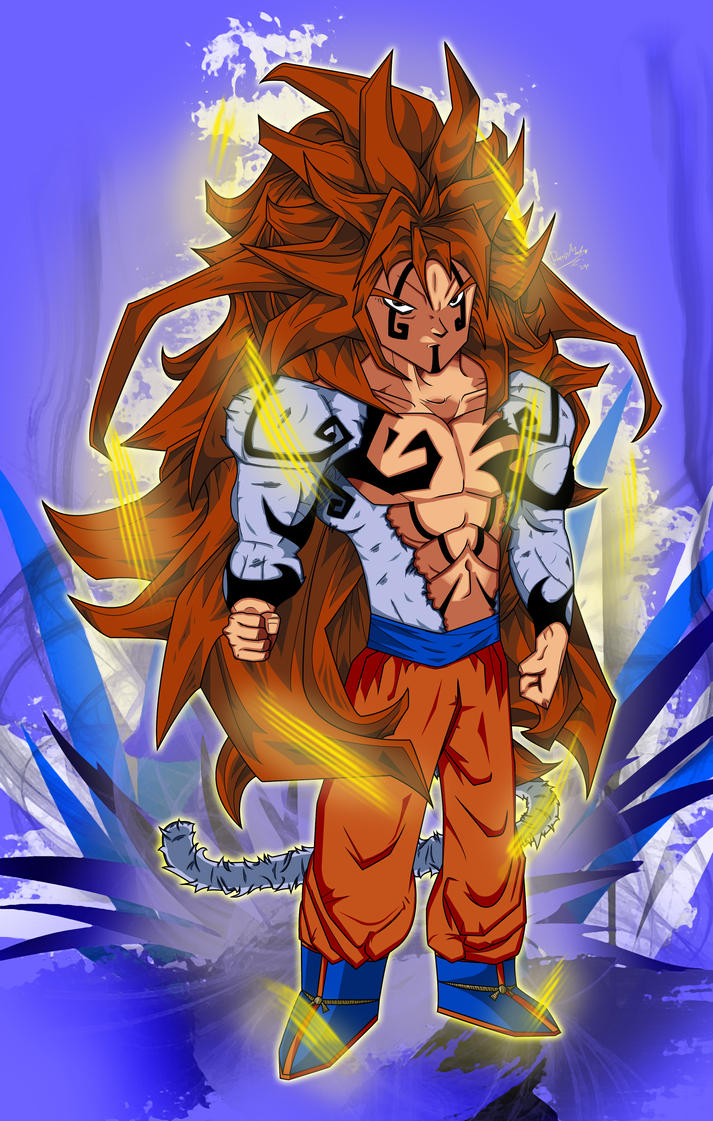 Goku super saiyan 5 by draftdafunk on deviantart - Super sayen 10 ...
