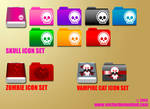 Vector Demented Icon Set 1