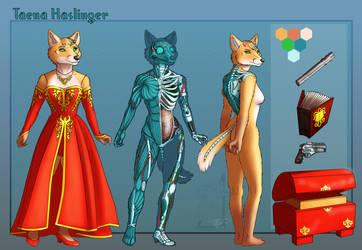Taena Haslinger refsheet by RalloonX