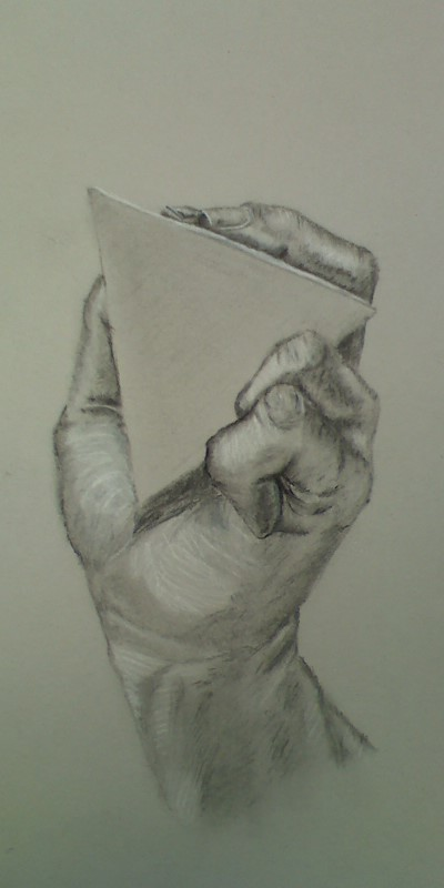 Charcoal Hand by BearSam