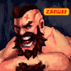 Pixel Zangief