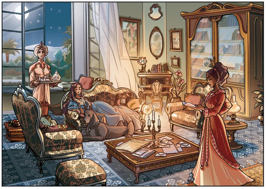 Preview princesse sara tome 5 page 30 by mzel m on deviantart - Princesse sarah 5 ...