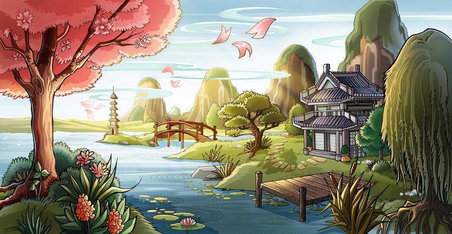 Paysage Japonais by Mzel-M