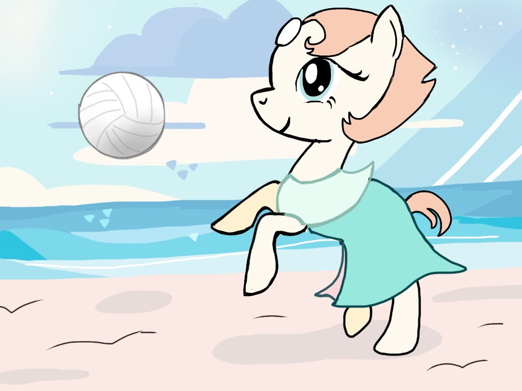 Beach Party Pearl (ATG VI day 21) by cobralash