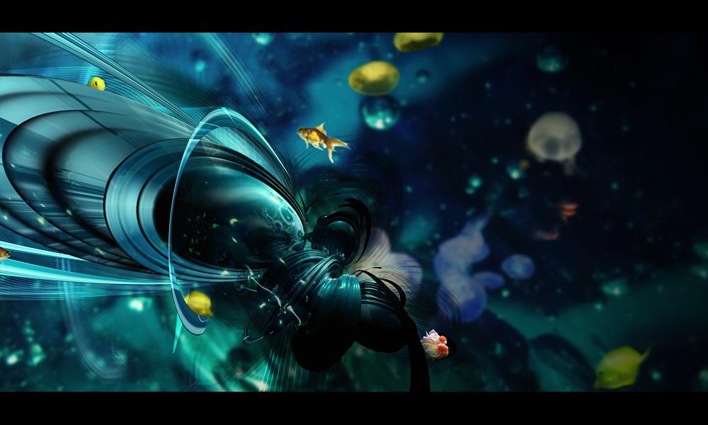 Weird Fishes by SheDArT