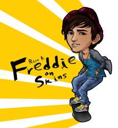 Freddie on Skins 2 by elaineK