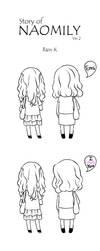 Naomily cartoon ver_2 by elaineK