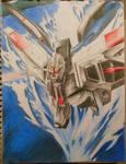 ZGMF-X10A Freedom Gundam by dr12002610