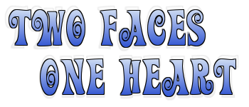 .Two Faces One Heart Logo. by FMAandYGO5dsgirl