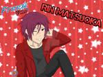 .Free! - Gold Evolution Rin Matsuoka. by FMAandYGO5dsgirl