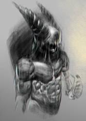 Skull Head by mrbiagy