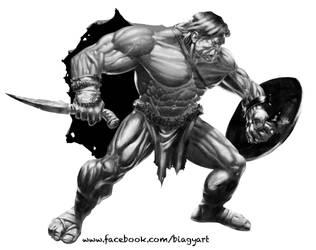 Conan by mrbiagy