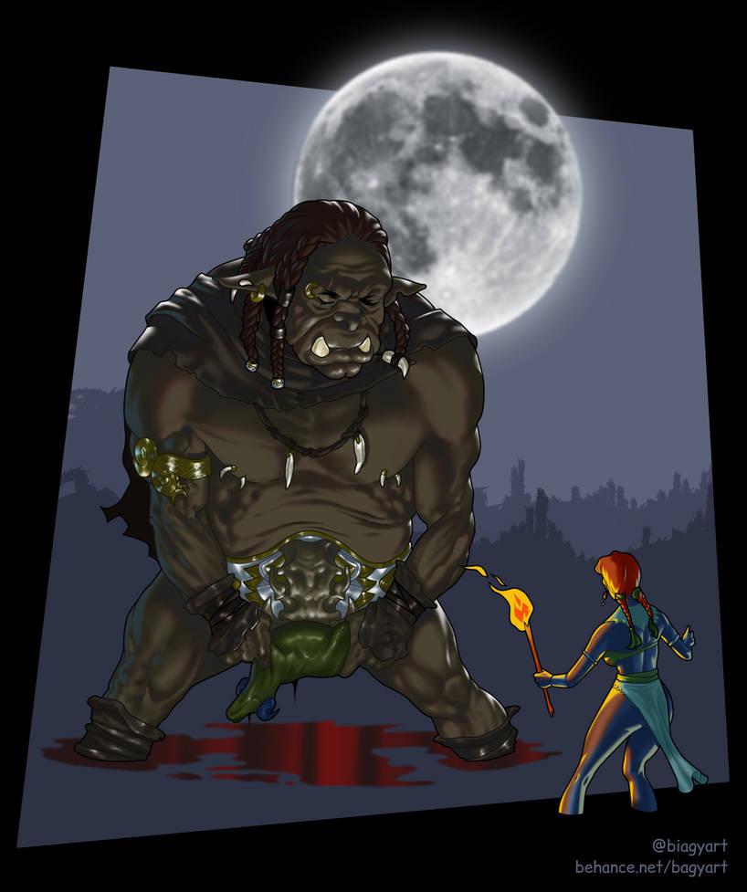 Orc sight by mrbiagy