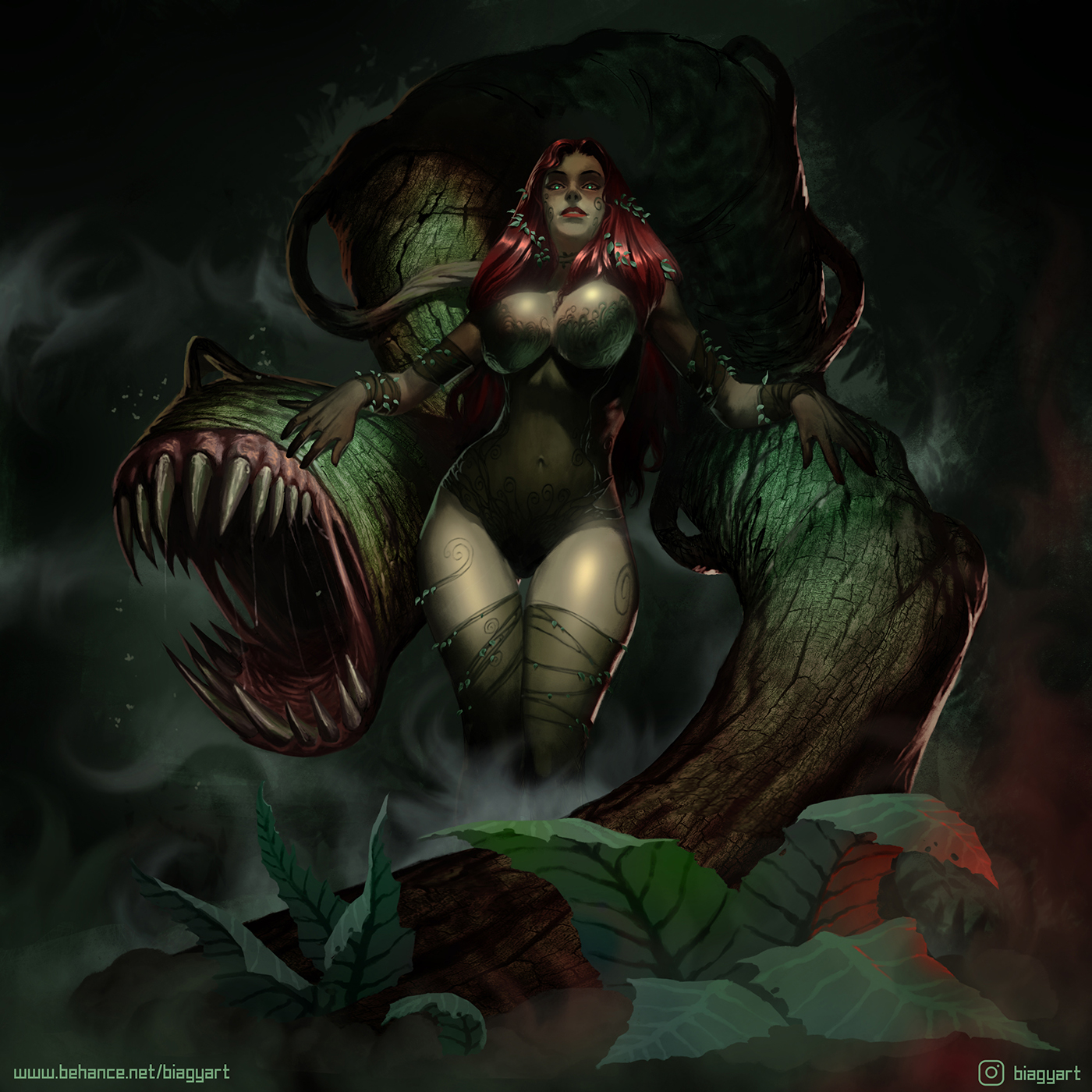 Poison Ivy by mrbiagy