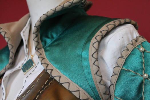 Triss Merigold costume detail