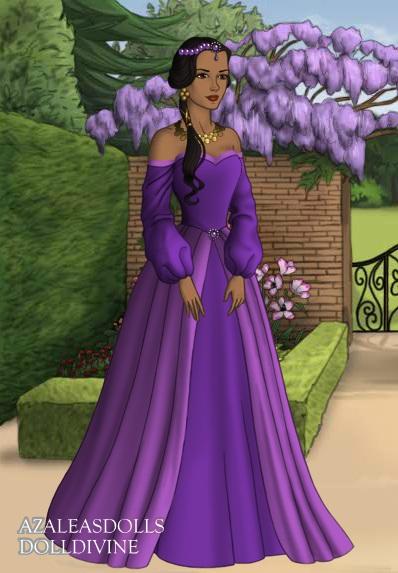 princess jasmine purple dress by cryatalmoon789 on deviantart