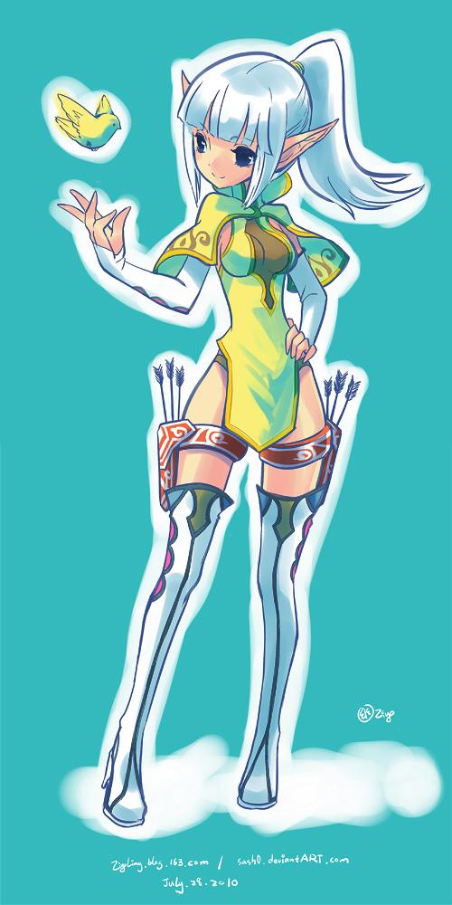 ::DragonNest:: Archeress by ZiyoLing