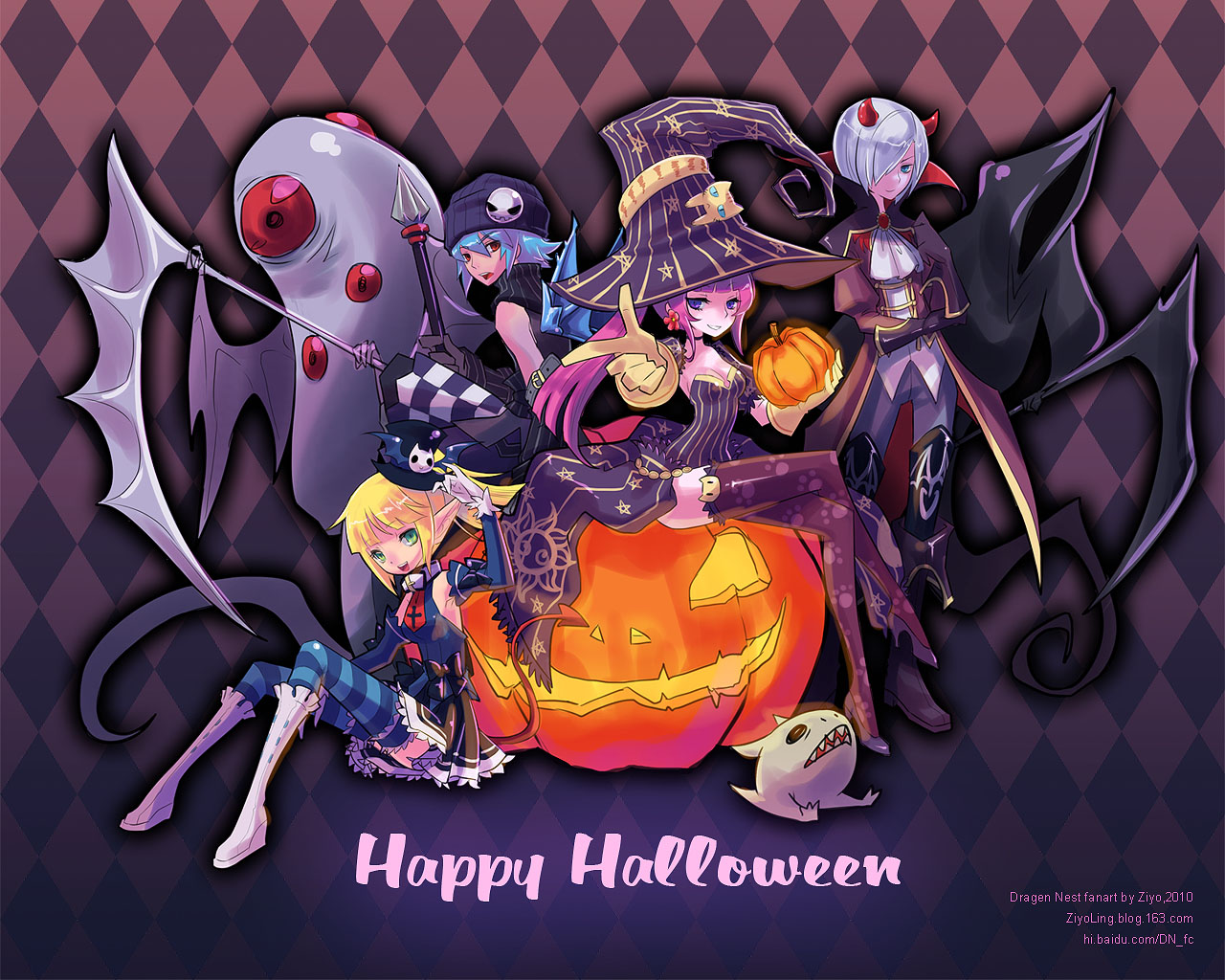 Happy Halloween 2010 by ZiyoLing