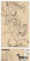 ::DragonNest::Postcard-Tenko by ZiyoLing