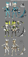 DragonNest Costume design-Archer