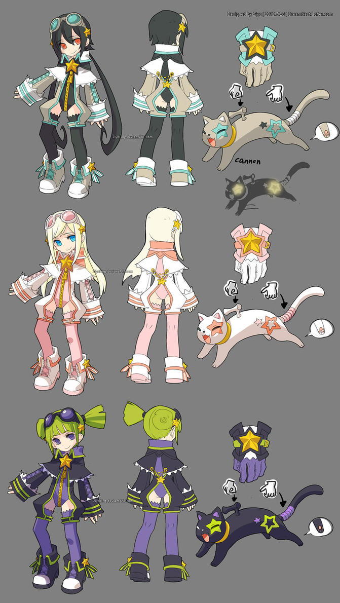DragonNest Costume design-Academic by ZiyoLing ... & DragonNest Costume design-Academic by ZiyoLing on DeviantArt