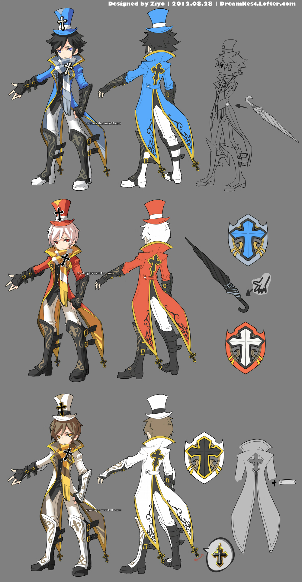 dragonnest costume design cleric by ziyoling on deviantart