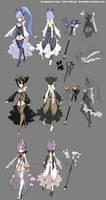 DragonNest Costume design-sorceress