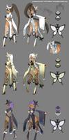 DragonNest Costume design-Kali