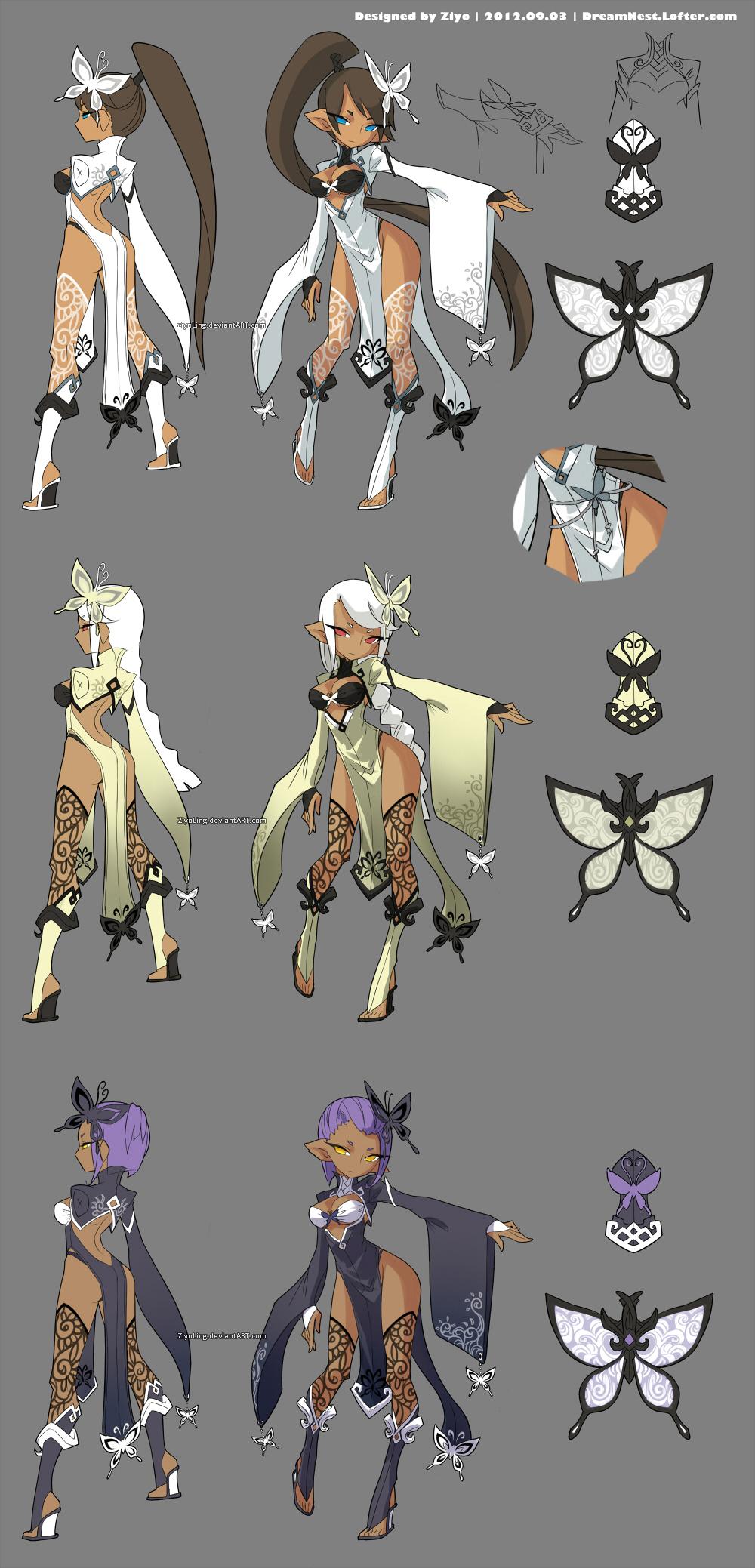 DragonNest Costume design-Kali by ZiyoLing