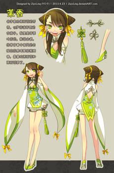 Original character: MoXiang