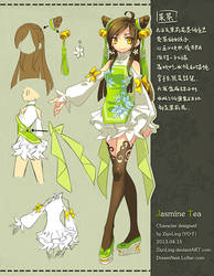 Original character: MoCha by ZiyoLing