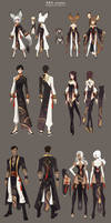 Bns costumes design