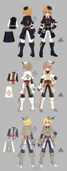 Dragon nest priest warrior