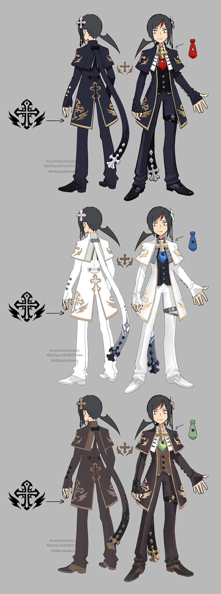 Dragon Nest Priest Assassin By Ziyoling On Deviantart