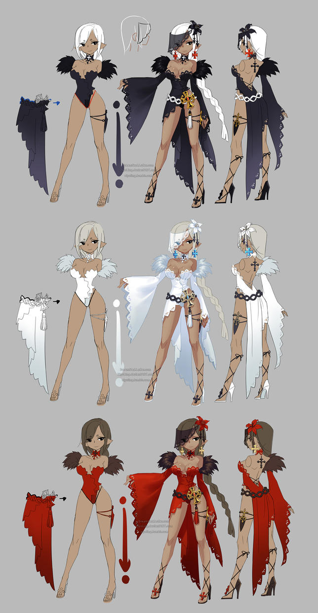 Character Analysis For Costume Design : Dragon nest priest kali by ziyoling on deviantart