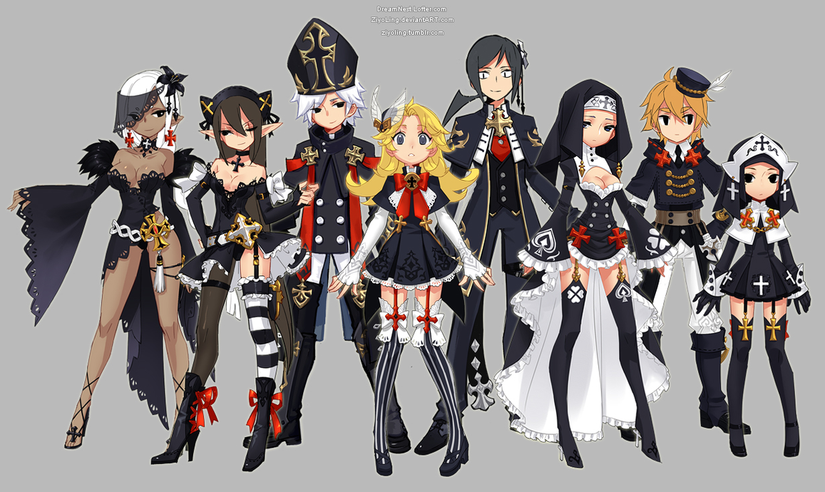 Dragon Nest Priest Costume All Classes By Ziyoling On
